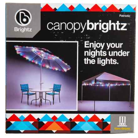 Brightz Canopy  LED Lights in Patriotic - Closeouts