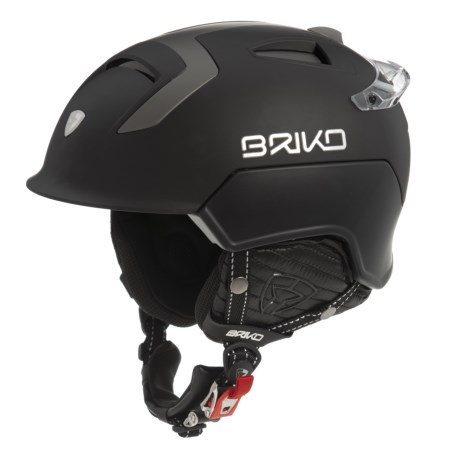 Briko Mongibello Ski Helmet (FOR MEN AND WOMEN) in Matte Black