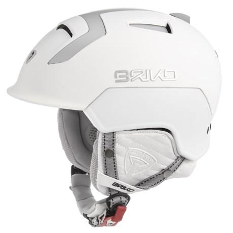 Briko Mongibello Ski Helmet (FOR MEN AND WOMEN) in Matte White