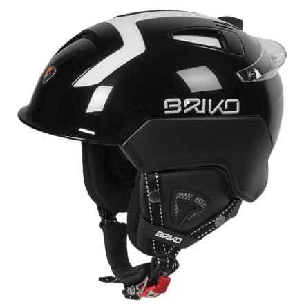 Briko Mongibello Ski Helmet in Black/Matte Black - Closeouts
