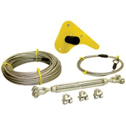 Bring Your Adventure Sports Skyline Zipline Kit - 75' in See Photo