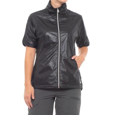Image of Britanny Wind Shirt - Short Sleeve (For Women)