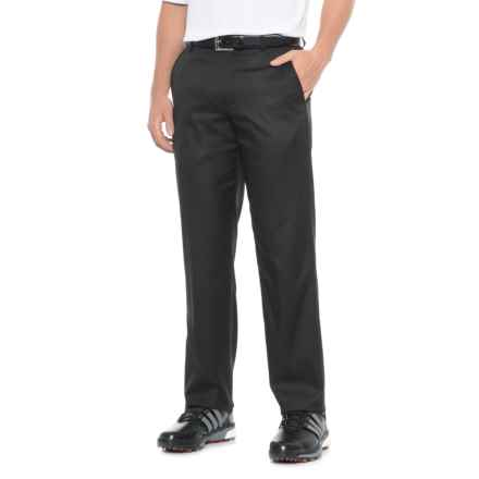 Britches Flat-Front Microfiber Pants (For Men) in Black - Overstock