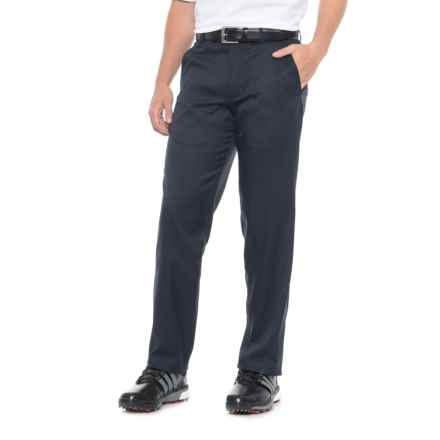 Britches Flat-Front Microfiber Pants (For Men) in Navy - Overstock