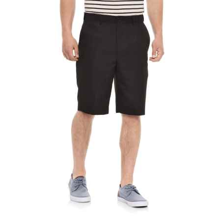 Britches Solid Flex Waistband Shorts (For Men) in Black - Overstock