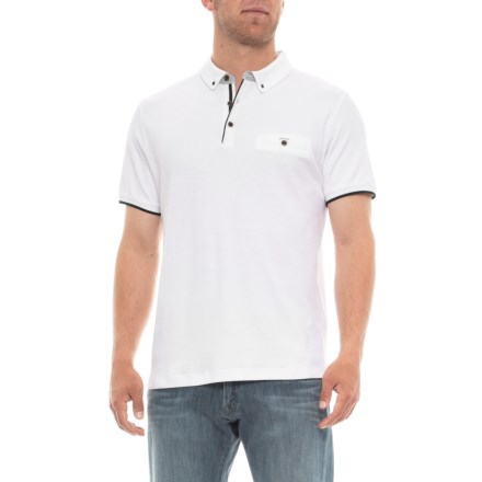 7085a9cdeab7 Britches Sport Panama Strait Polo Shirt - Short Sleeve (For Men) in White -