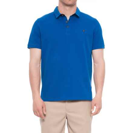 Britches Sport Peter Pop Polo Shirt - Short Sleeve (For Men) in Blue - Closeouts