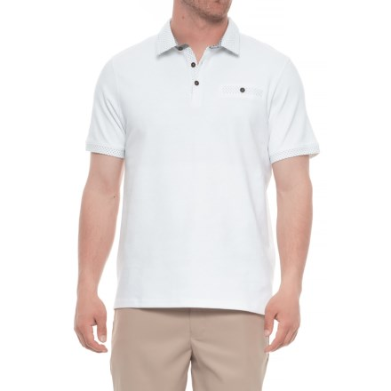 1ffeecba Britches Sport Peter Pop Polo Shirt - Short Sleeve (For Men) in White -