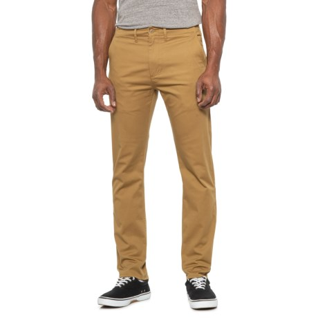 British Khaki 502 Regular Taper Chino Pants (For Men) - BRITISH KHAKI ( )