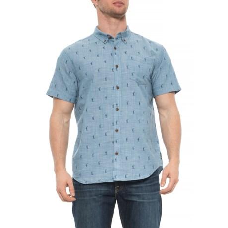 Image of Broderick Shirt - Organic Cotton, Short Sleeve (For Men)