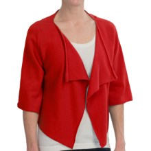 Brodie Cashmere Bolero - Elbow Sleeve (For Women) in Ruby Red - Closeouts