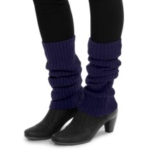 Brodie Cashmere Leg Warmers (For Women) in Navy - Closeouts