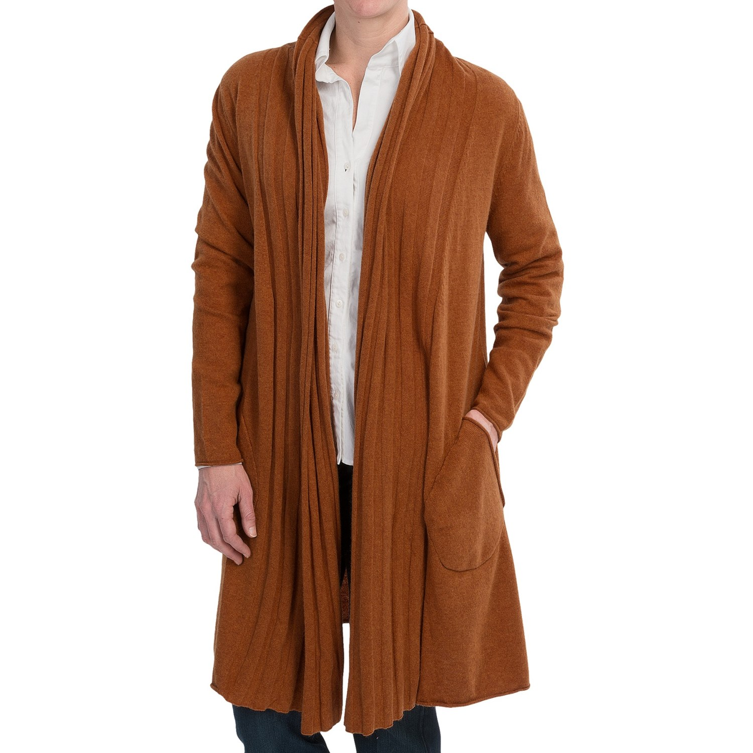 Womens Brown Cardigan 82