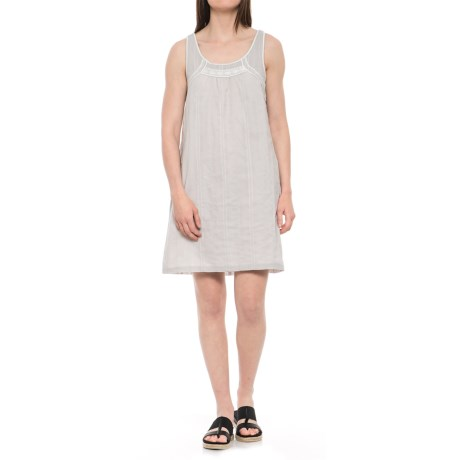 Brooke Voile Dress - Organic Cotton, Sleeveless (For Women)