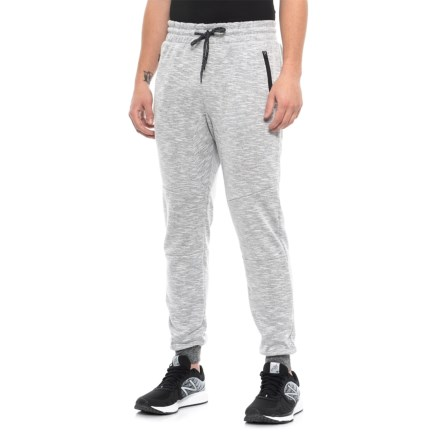 2f0fa878a Brooklyn Cloth Speckled Streaky Fleece 2.0 Jogger Pants (For Men) in White  - Closeouts
