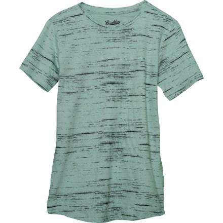 e38ab2d34 Brooklyn Cloth Streaky Print T-Shirt - Crew Neck, Short Sleeve (For Big