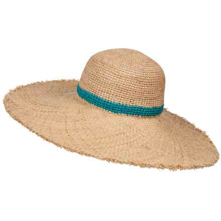 Brooklyn Hat Co Brooklyn Hat Banes Big Brim Hat (For Women) in Turquoise - Closeouts