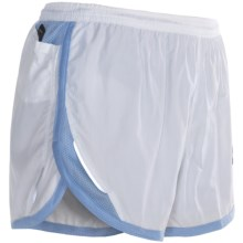Brooks 2012 HVAC Synergy Shorts (For Women) in White/Powder - Closeouts