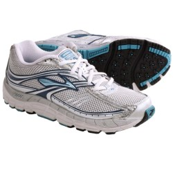 Brooks Addiction 10 Running Shoes (For Women) in Metallic Aqua/Silver/Marina Blue/White/Pavement