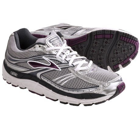 Brooks Addiction 10 Running Shoes (For Women) in Silver/Anthracite/Plum