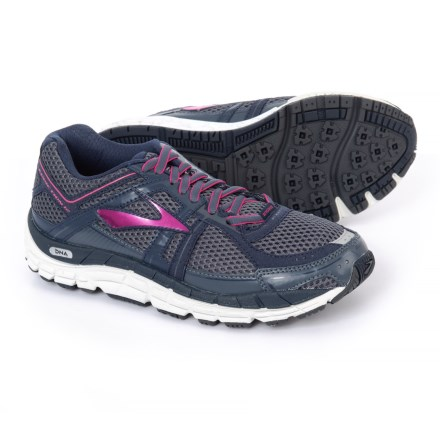 acb1ac9bff17d Brooks Addiction 12 Running Shoes (For Women) in  Ombreblue Obsidian Fuchsiapurple -