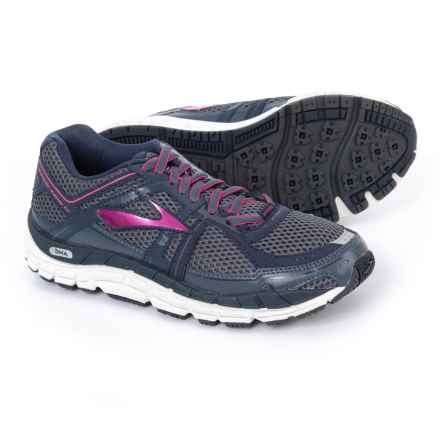 Brooks Addiction 12 Running Shoes (For Women) in Ombreblue/Obsidian/Fuchsiapurple - Closeouts