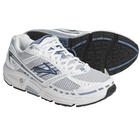 Brooks Addiction 9 Running Shoes (For Women) in Silver/Infinity/Pearl White/Twilight/Black