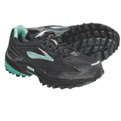 Brooks Adrenaline ASR Gore-Tex® Trail Running Shoes - Waterproof (For Women) in Turquoise/Black/Shadow/Silver