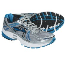 Brooks Adrenaline GTS 12 Running Shoes (For Men) in White/Obsidian/Brillant Blue/Dark Navy/White/Silve - Closeouts