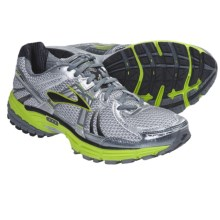 Brooks Adrenaline GTS 12 Running Shoes (For Men) in White/Pavement/Lime Green/Metallic Silver/Black - Closeouts