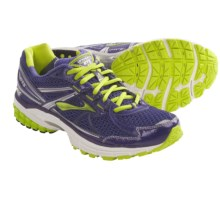 Brooks Adrenaline GTS 13 Running Shoes (For Women) in Deep Wisteria/Lime Punch/Silver/White/Black - Closeouts