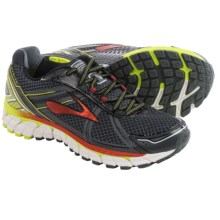 Brooks Adrenaline GTS 15 Running Shoes (For Men) in Anthracite/Lime Punch/Orange.Com - Closeouts