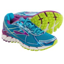 Brooks Adrenaline GTS 15 Running Shoes (For Women) in Hawaiian Ocean/Hollyhock/Lime Punch - Closeouts