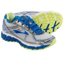 Brooks Adrenaline GTS 15 Running Shoes (For Women) in White/Dazzling Blue/Sharp Green - Closeouts