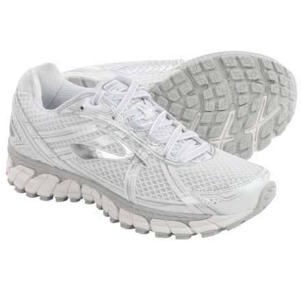 Brooks Adrenaline GTS 15 Running Shoes (For Women) in White/Silver - Closeouts