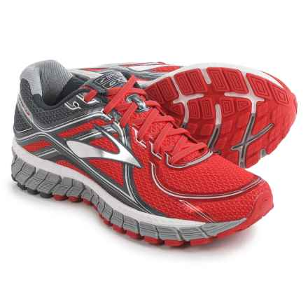 Brooks Adrenaline GTS 16 Running Shoes (For Men) in High Risk Red/Anthracite/Silver - Closeouts