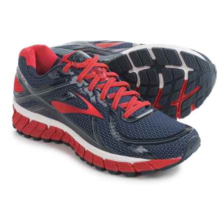 Brooks Adrenaline GTS 16 Running Shoes (For Men) in Peacoat/High Risk Red/China Blue - Closeouts