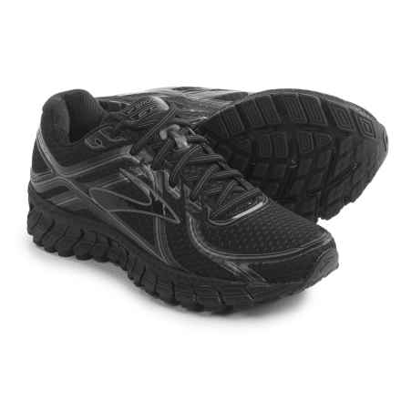 Brooks Adrenaline GTS 16 Running Shoes (For Women) in Black/Anthracite - Closeouts