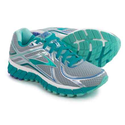 Brooks Adrenaline GTS 16 Running Shoes (For Women) in Silver/Bluebird/Blue Tint - Closeouts