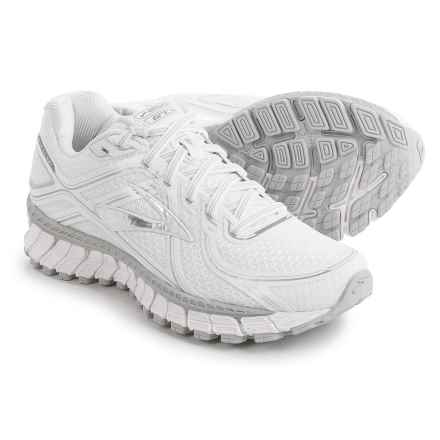 Brooks Adrenaline GTS 16 Running Shoes (For Women) in White/Silver - Closeouts