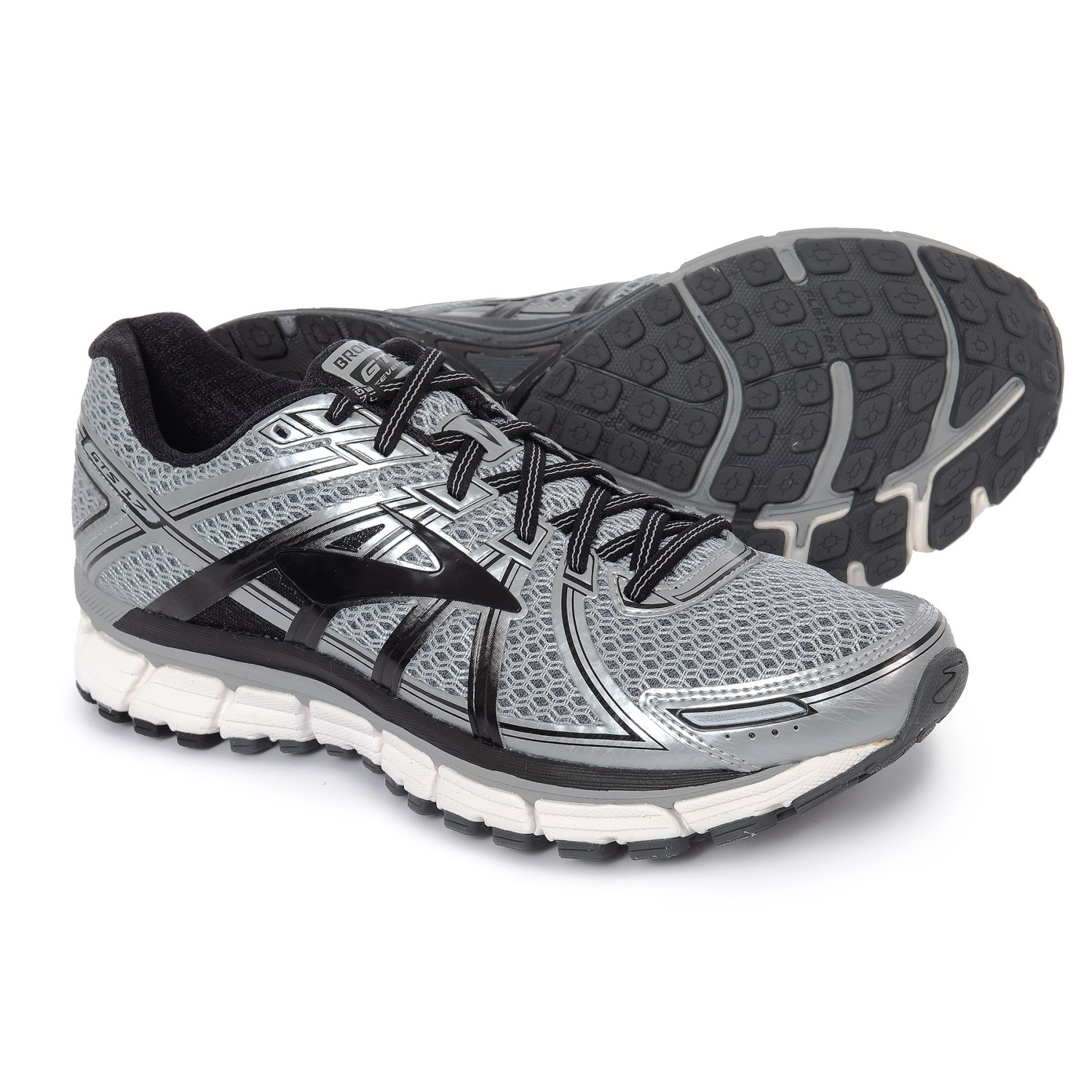 separation shoes db50a 2c250 ... best price brooks adrenaline gts 17 running shoes for men in silver  black anthracite a9212 45886