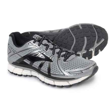 Brooks Adrenaline GTS 17 Running Shoes (For Men) in Silver/Black/Anthracite - Closeouts