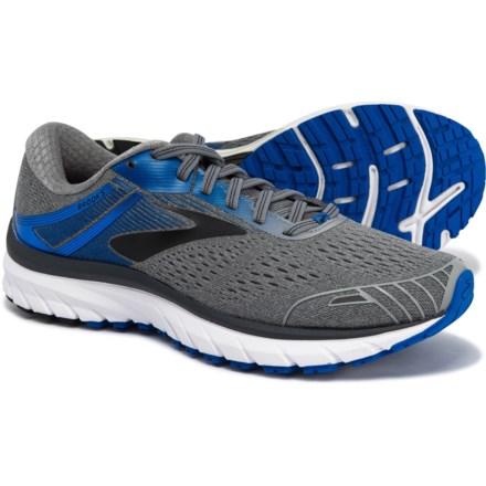 2568b29c418 Brooks Adrenaline GTS 18 Running Shoes (For Men) in Grey Blue Black