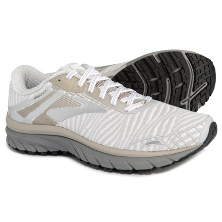 a60a8404a8ab2 Brooks Adrenaline GTS 18 Running Shoes (For Men) in White Grey Tan