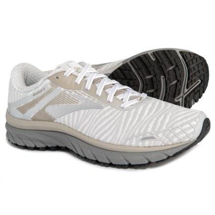 1a5de558da4 Brooks Adrenaline GTS 18 Running Shoes (For Men) in White Grey Tan