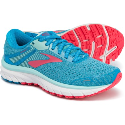 9a287bd53b3 Brooks Adrenaline GTS 18 Running Shoes (For Women) in Blue Mint Pink