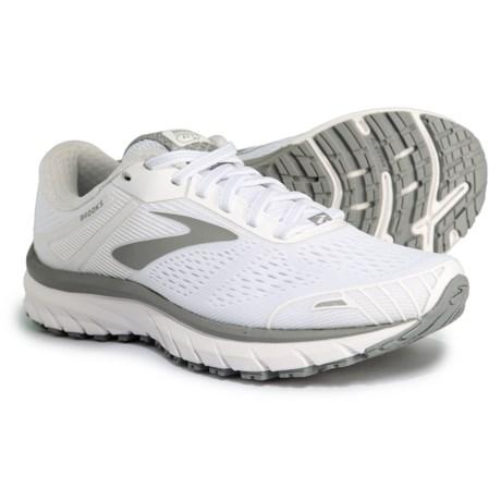 cd12d1b9061 Brooks Adrenaline GTS 18 Running Shoes (For Women) in White White Grey