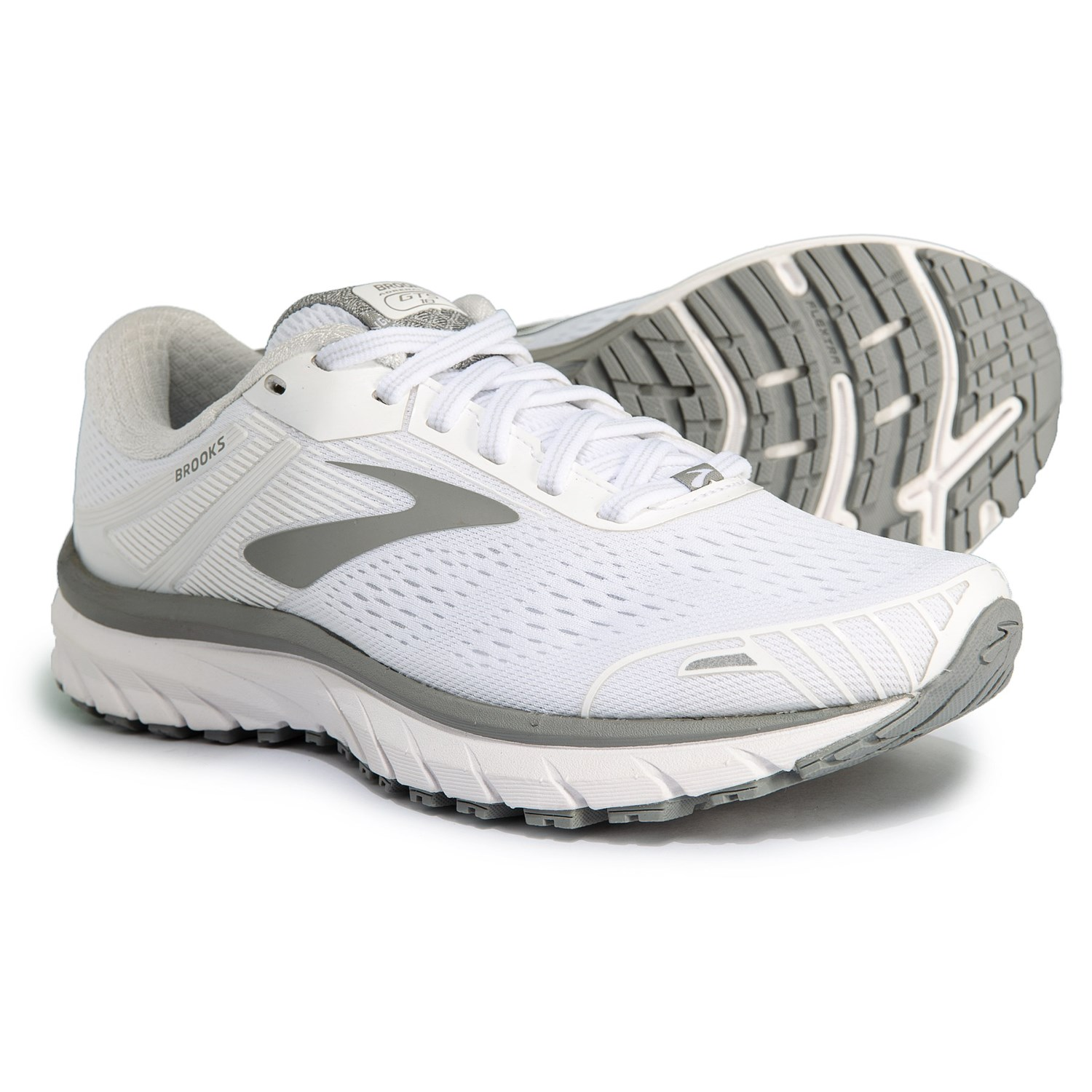 38b93632c2c Brooks Adrenaline GTS 18 Running Shoes (For Women) in White White Grey
