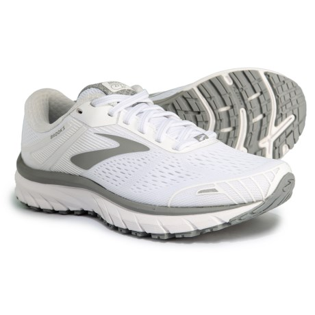 15e3c40da98 Brooks Adrenaline GTS 18 Running Shoes (For Women) in White White Grey