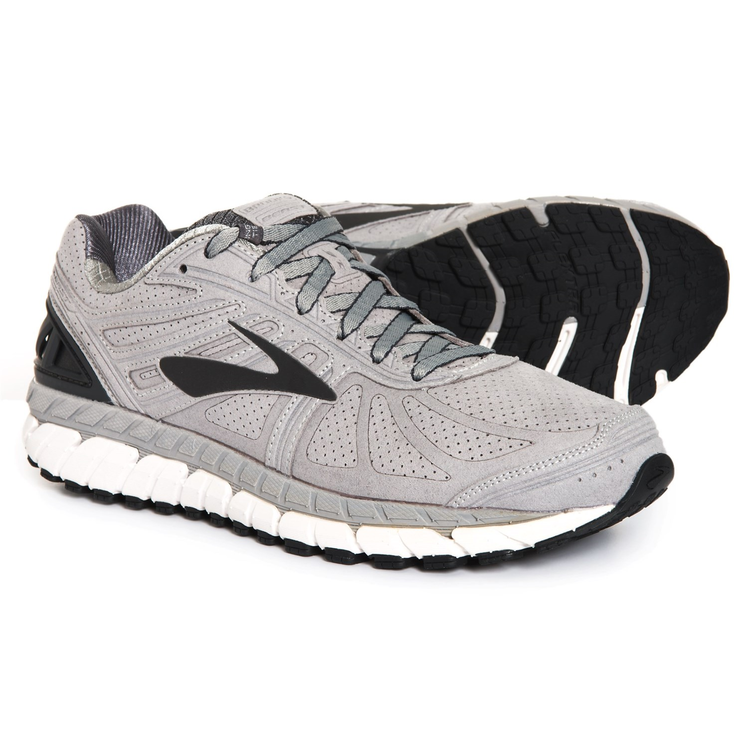 83a694818e7 Brooks Beast 16 Limited Edition Running Shoes (For Men) in Suede Silver